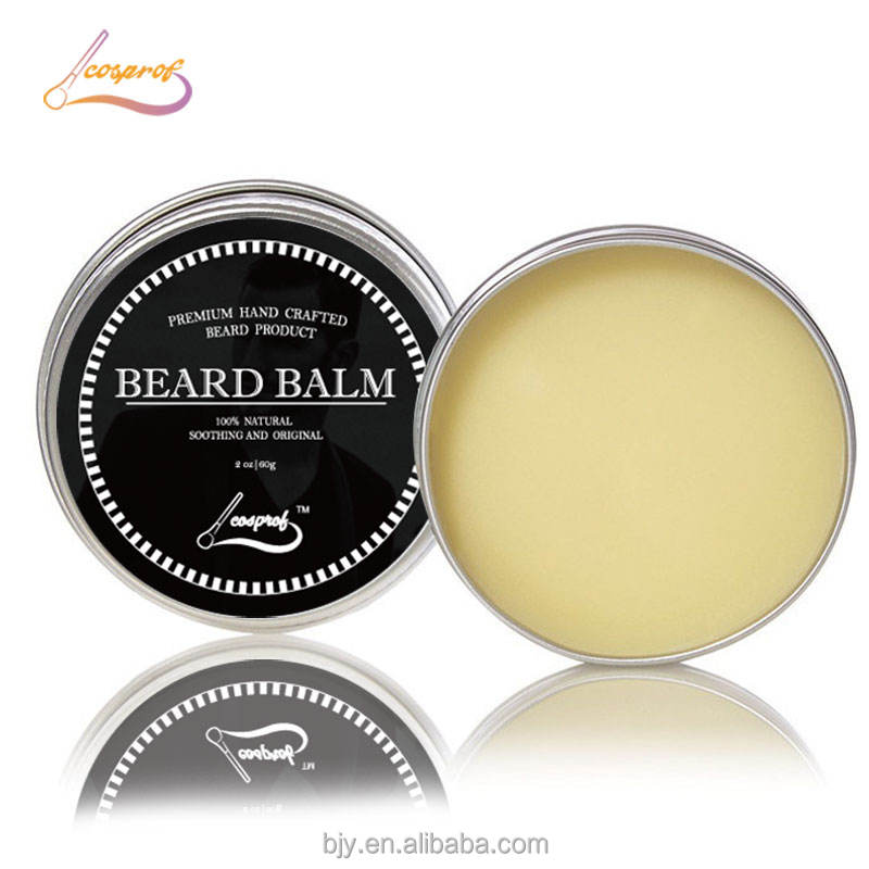 Wholesalers 100% Natural Organic Mustache Styling Shaping Scented Beard Balm For Men