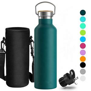 Non-Toxic BPA Free -Stainless Steel Vacuum Insulated Water Bottle Ideal as Sports Bottle(350ml 500ml 600ml 750ml 1000ml)