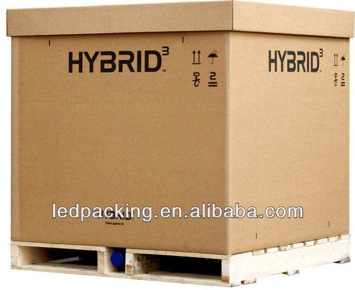 corrugated pallet box with Logo Print