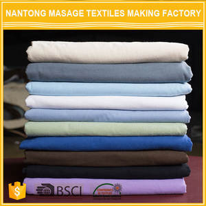 Professional Manufacture Massage Bed Sheets 100% cotton flannel fabric