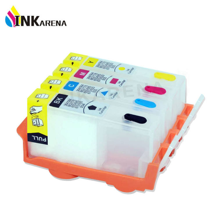 INKARENA High Quality Refill CISS Ink Cartridge Replacement For HP 364 Photosmart 5510 5515 6510 4620 3070A B209a B110a B109n