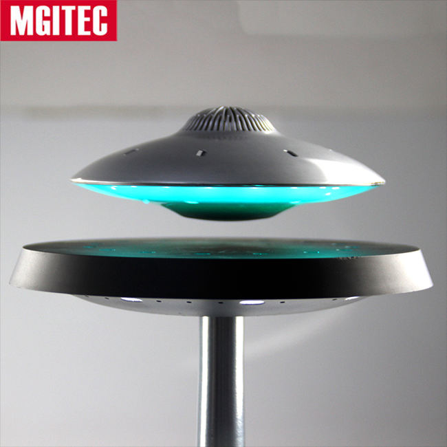 Mgitec Superieure Geluidskwaliteit 2018 UFO Speaker 360 Graden Hifi Surround Sound Magnetische Drijvende Leviating Bluetooth Speaker