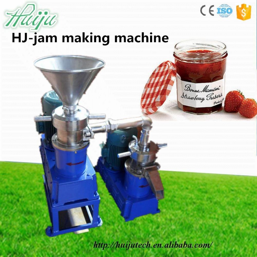 Best quality mango/apple/strawberry/tomato jam making machine HJ-P12