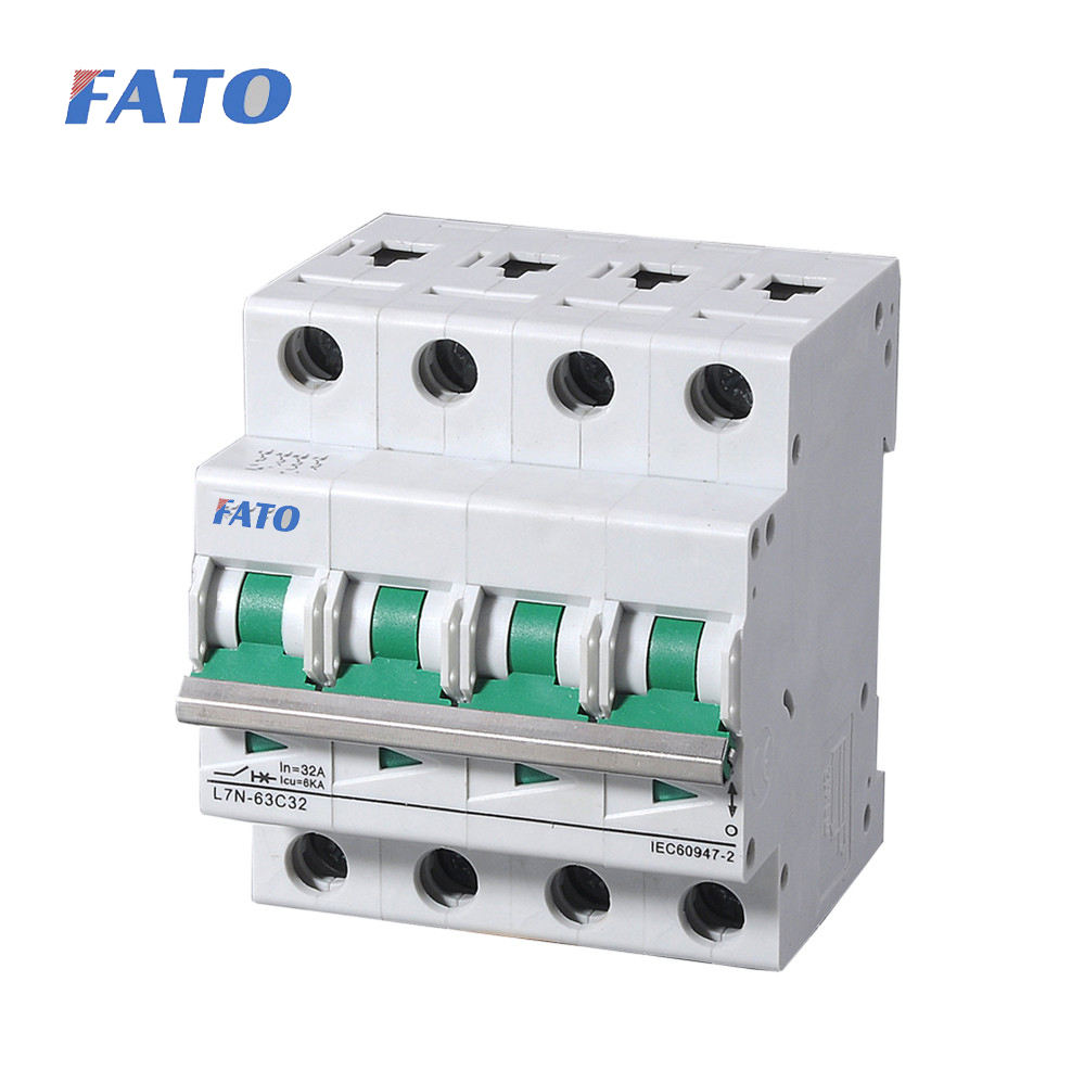 Fato L7 L7N Mini Circuit Breaker, CFL7, IP40 10KA 15KA MCB