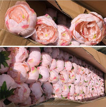 Wholesale Artificial Flower Large Peony Heads For Wedding Decoration