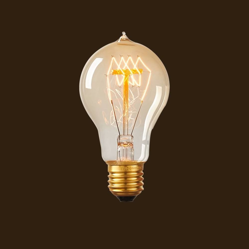Hanging lamp antique vintage bulbs A19 25w 220-240v vintage light bulb edison retro lightbulbs A60 clear round incandescent lamp