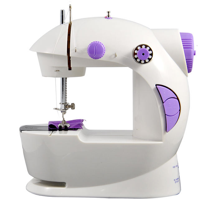 VOF FHSM-201 manual button mini sewing machine for children