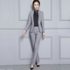 2019 Women New Design Fashion Formal Business Suit For Office Lady Work Wear Suit