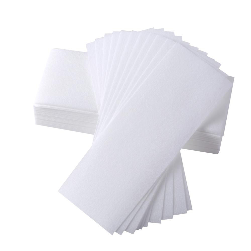 High quality free sample non-woven fabric colored hair removal wax paper/roll disposable wax strips for beauty