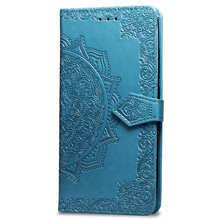 PU Leather Mandala Embossing design mobile phone case with card holder for iPhone Xs Max