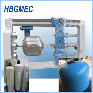 CNG cylinders making filament winding machine