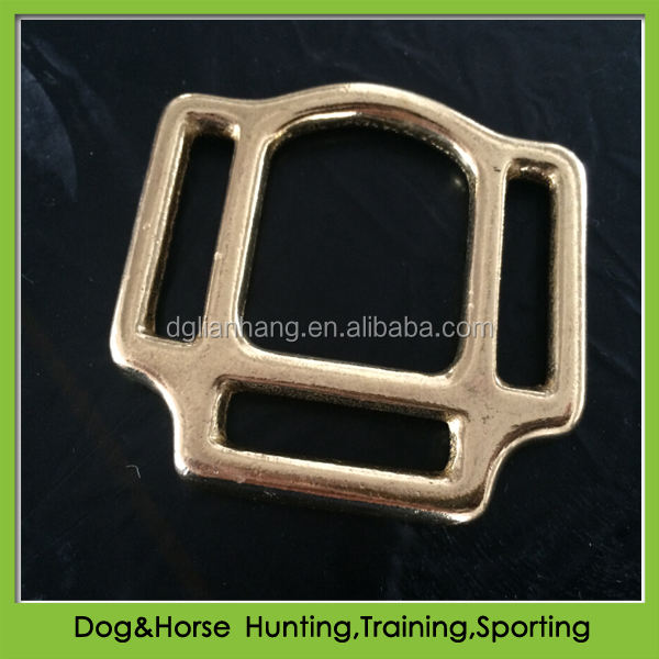 Halter square for equestrian fittings