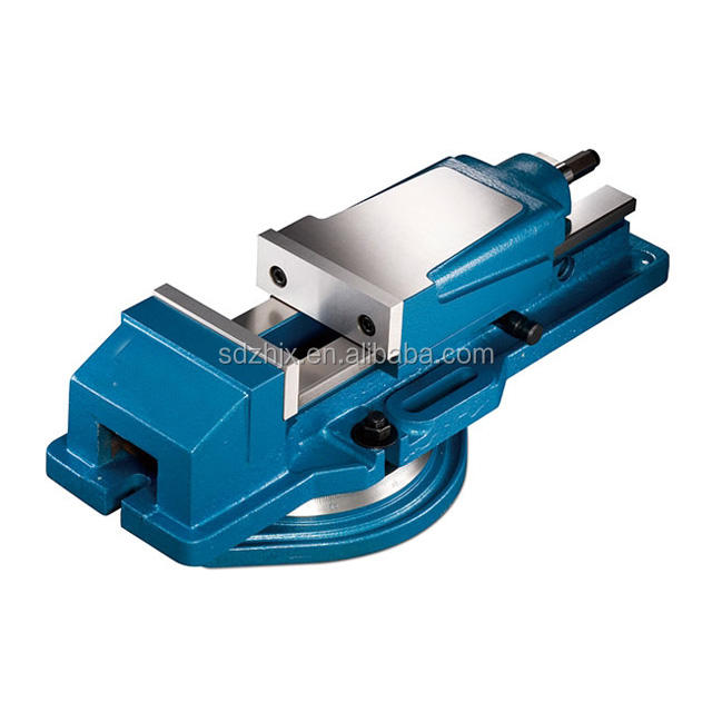 CNC precision rotating hydraulic milling machine bench vise