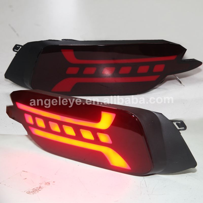 LED Bumper licht voor Honda voor Civic 2016-2018 Dark Red