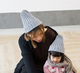 2019 New Style Fashion Autumn Winter Warm Knitted Woven Colors warm knit Baby Beanie Hat