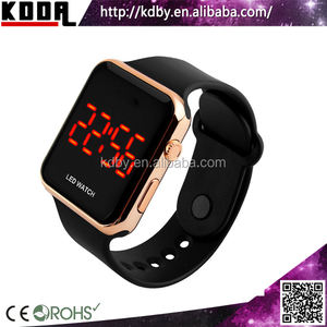 top 10 watch brands custom digital sport metal watch China touch screen sport watch