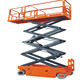 300 500 kg full electric mobile folded hydraulic platform scissor lift table