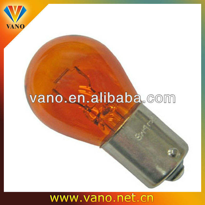 High Power Flasher stop tail lamp en Knipperende indicator Oranje halogeenlamp 21 w 12 v