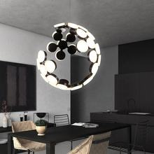 Led Nordic Hanging Post-modern Simple Creative Living Room Main Bedroom Chandelier light