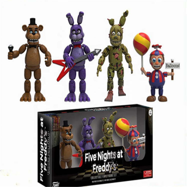 New products 2019 five night at freddy pvc action figure toys