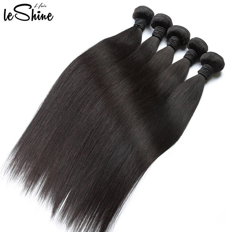 Wholesale 8A 9A 10A Grade Virgin Malaysian Mink Straight Hair Bundles Cheap Raw Unprocessed Cuticle Aligned Malaysian Hair