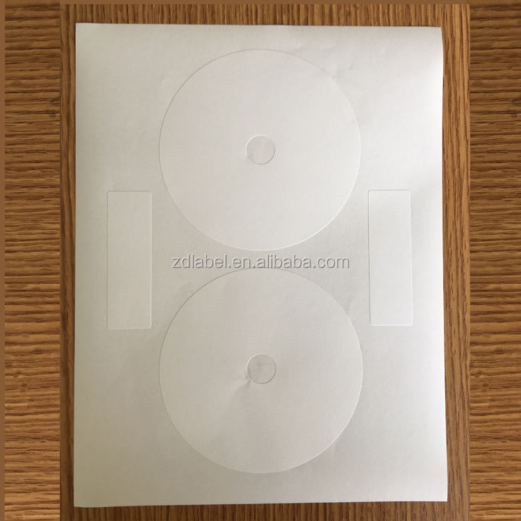 "Compulabel 312693-Self Adhesive Putih CD/DVD Label. 4.65 ""Diameter"