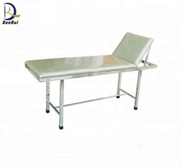 CE Approved Head Part Adjustable Hospital Examination Bed Couch