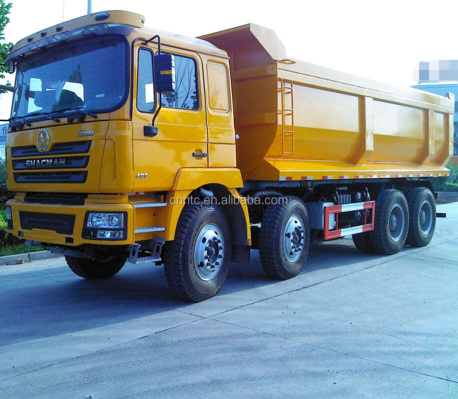 European Standard SHACMAN 336 Dump Truck For South Africa
