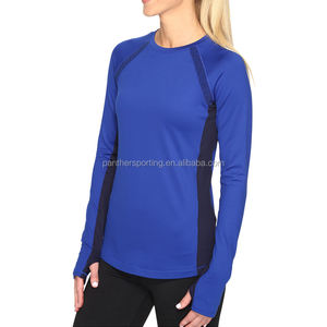 Quick Dry Sports Running Yoga Clothes Long sleeve Women Jacket Fitness Gym Shirts Tops Recycled Fabric