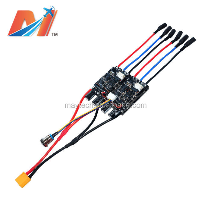 Maytech newest electro skateboard dual esc 30A 10S sensored brushless esc for longboard electrico