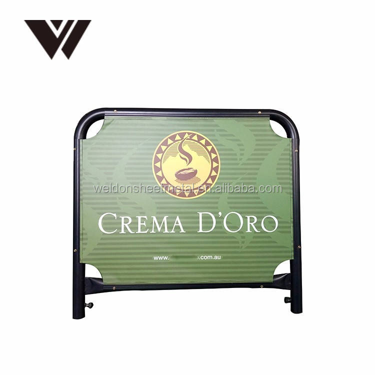 Australia Market Small Size 1m Coffee Shop Barriers Square Frame Cafe Wind Barrier