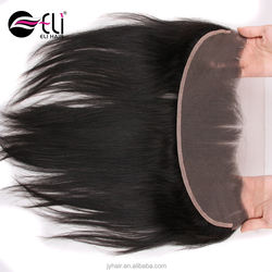 13*4 Lace Frontal Straight And Bundles Sale Closure Pre Plucked Indian Hair Silk Base Frontal
