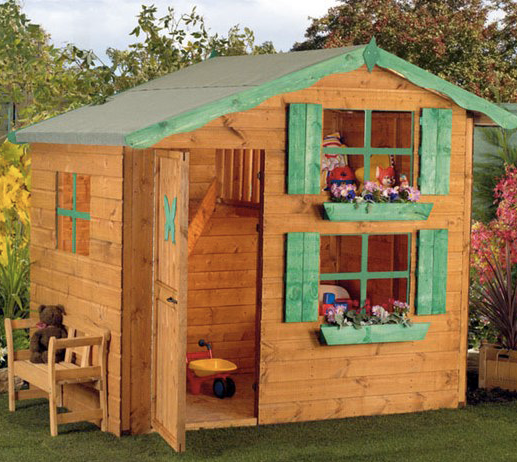 prefabricated wooden small play house