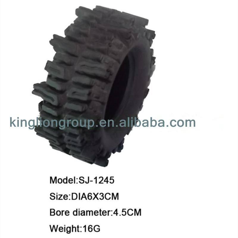 China fabricante juntas tóricas de caucho del neumático del neumático para el coche del RC