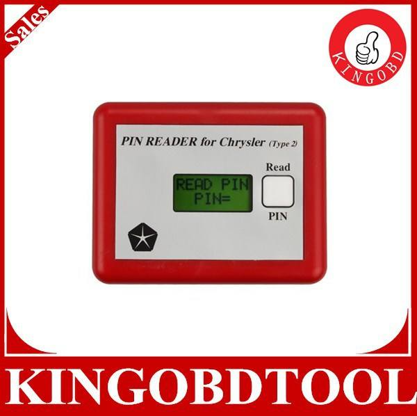 Latest version Pin Code Reader FIT For C-h-rysler Type2 from factory directly