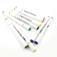 Dual Tip Office Working Sketch  Markers Set and Permanent Textile Pen Art Marker