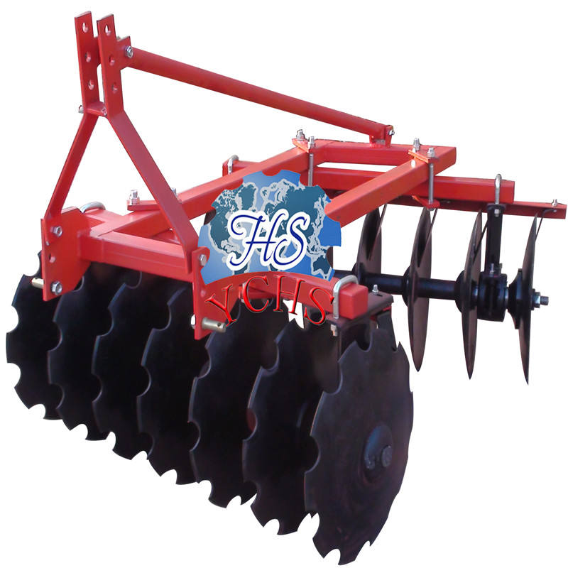 farm tractor implement light-duty offset small disc harrow