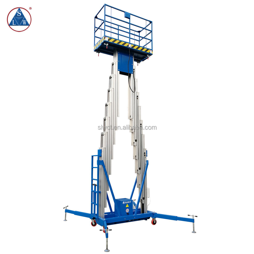 200kg Aluminium Portable Mobile Aerial Work Lift Platform
