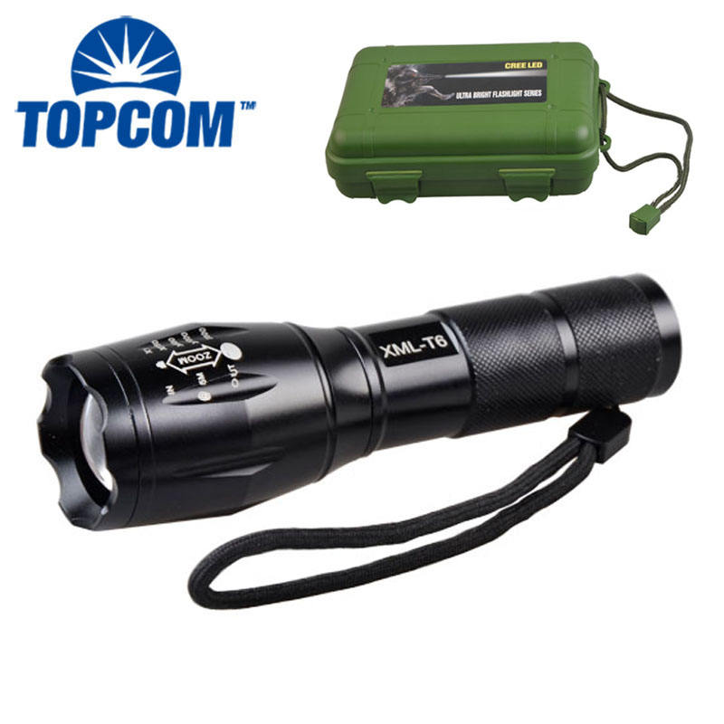 2000 Lumen High Power Rechargeable LED Flashlight XML T6 Torch Tactical G700 Flashlight