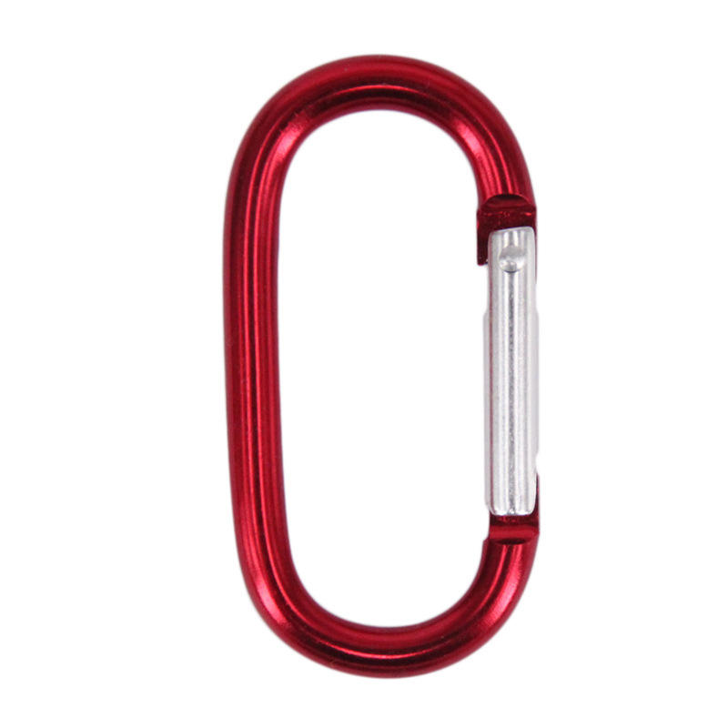 Different Colors Different Sizes Customized Aluminum Carabiner Toy Hooks