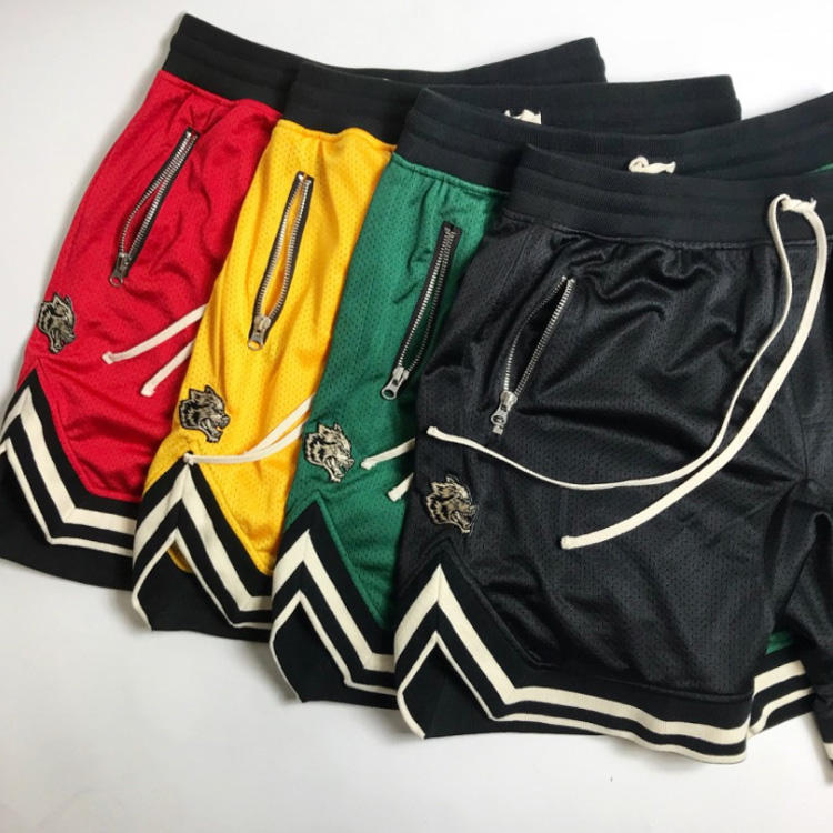 Summer new style Thin section Mesh sports Shorts Sexy muscles brothers Run Basketball training Breathable Fitness shorts