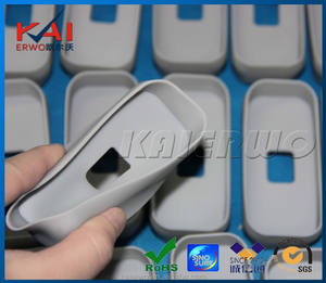 Low cost Small batch vacuum casting rubber/ silicone soft plastic part prototype service