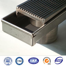 Anti-slip wedge wire stainless floor grates linear floor drain