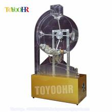 Sale Low Price Coin Operated Bingo Automatic Electric Lottery Air Blowing Drawing Ball Machine