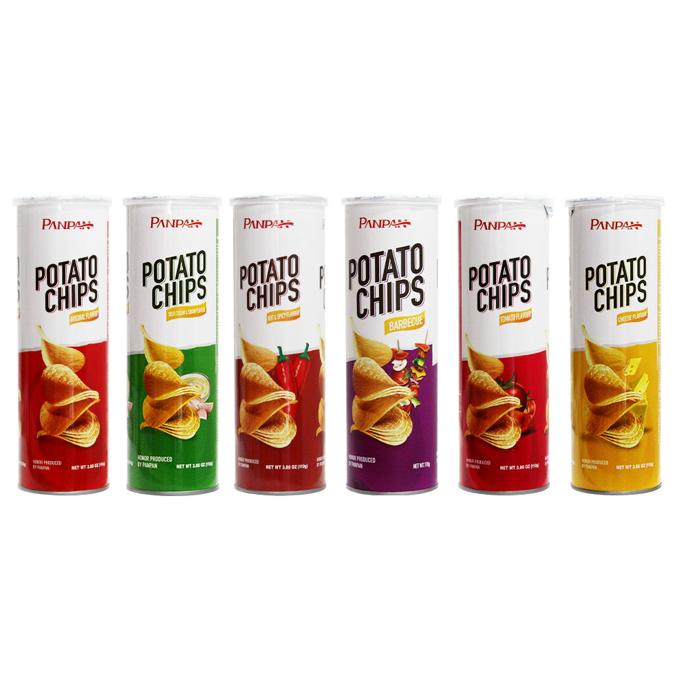 Potato chips Canned food