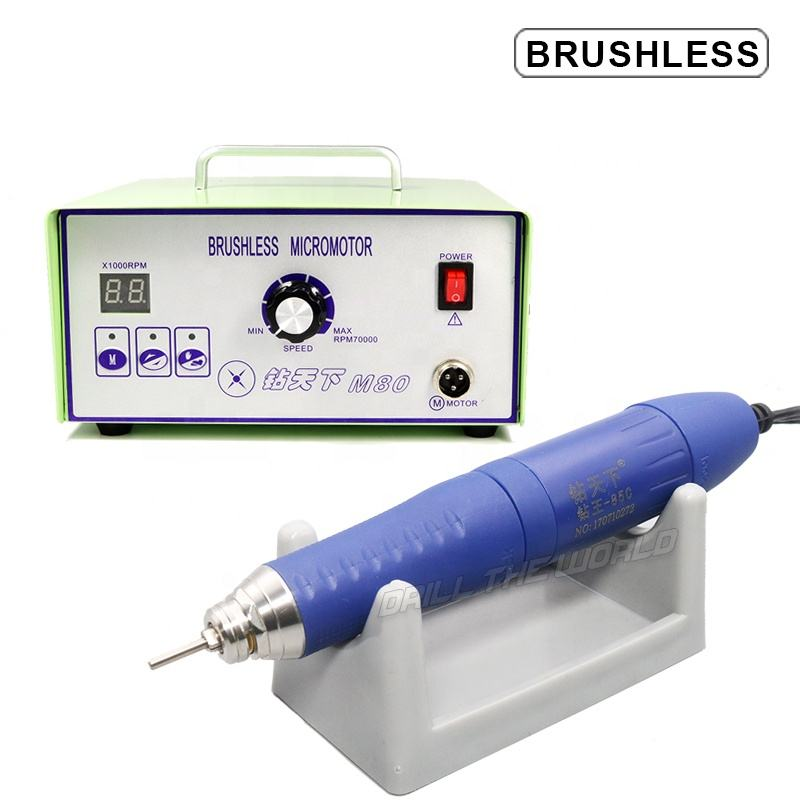 150W dental lab technician 70000 rpm high speed brushless micro motor handpiece