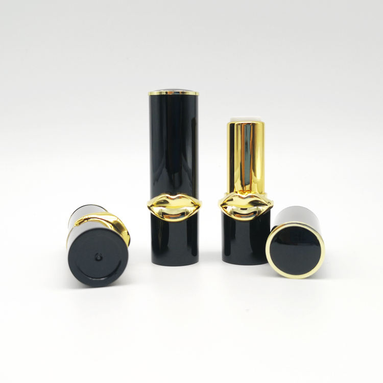 In Stock make your own lipstick tube plastic empty round The Big Mouth lipstick case packaging