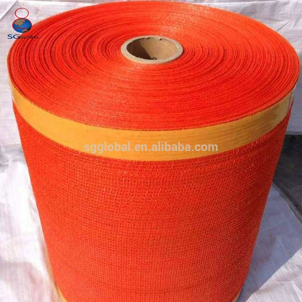 Packing Rolls Vegetable Potato Onion China 50x80 mesh bag net fabric roll