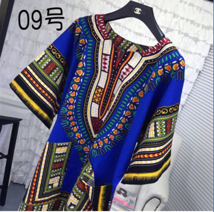 Wholesale Bulk Dashiki Shirt short sleeve thailand dashiki shirt