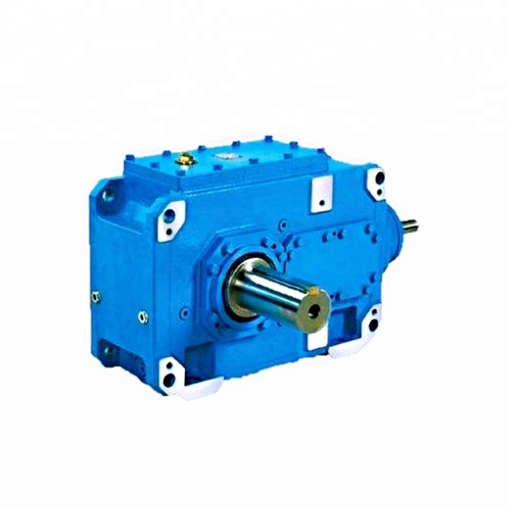 Hard toothed faced double helical gearbox face tooth reduction gearbox